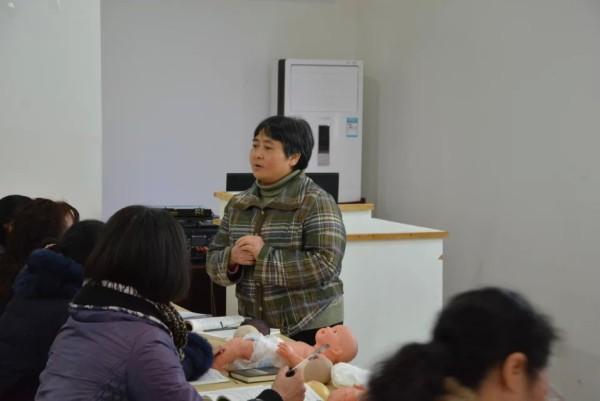 2015年第1期母婴护理培训学业员课堂缩影