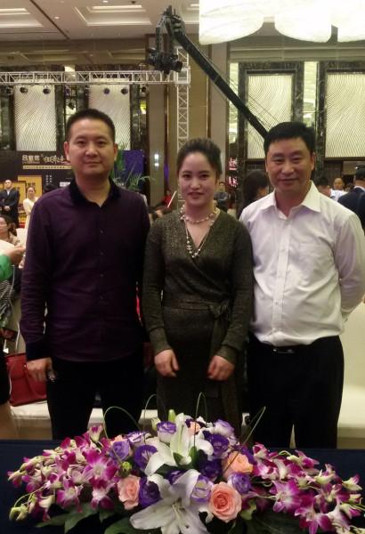 王玉在上海考察吕家传微商创业项目